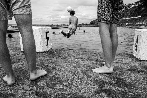 Bernard Ruault - La piscine de Granville - Papier monochrome