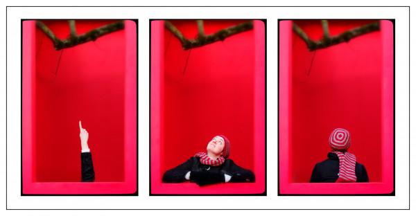 Jean Francois Mottin - Vous avez dit rouge ? - Papier couleur