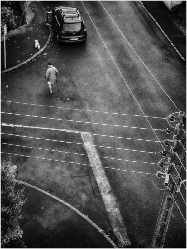 Jean-Luc Simon - Biarritz1 - Papier monochrome